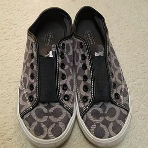 Coach Shoes - Coach slip ons